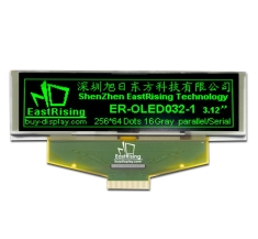 3.2 inch OLED Display Module SSD1322 Controller 256x64 Dot,Green on Black ER-OLED032-1G